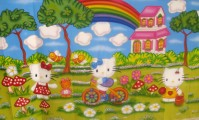HELLO KITTY  TAM 3,00X2,00